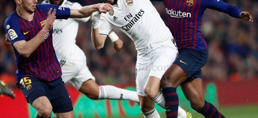 Мой прогноз на матч Реал-Барселона 02.03.20